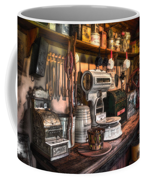 New Jersey Coffee Mug featuring the photograph General Store by Jerry Fornarotto