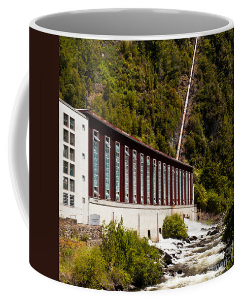 Current Coffee Mug featuring the photograph Generator House Of Hydro-electric Power Plant by Stephan Pietzko