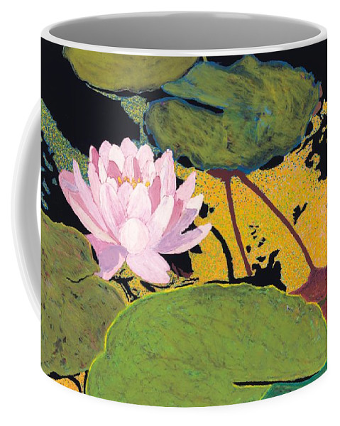 Landscape Coffee Mug featuring the painting Georgia Summer by Allan P Friedlander