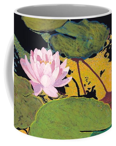 Landscape Coffee Mug featuring the painting Georgia Summer by Allan P Friedlander