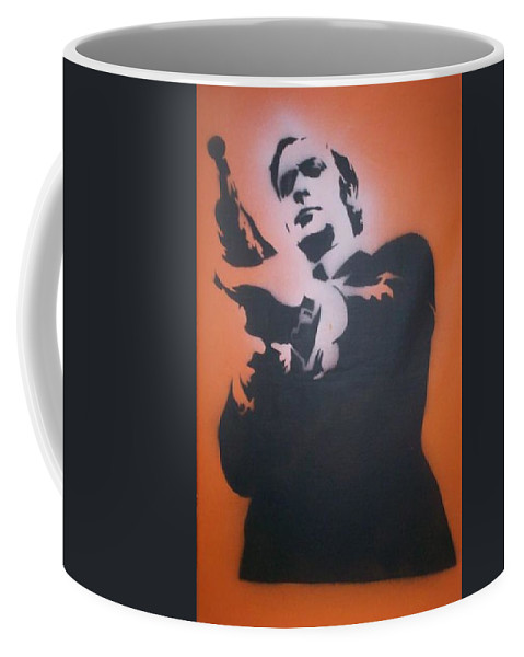 Get Carter Coffee Mug featuring the painting Get Carter by Gary Hogben