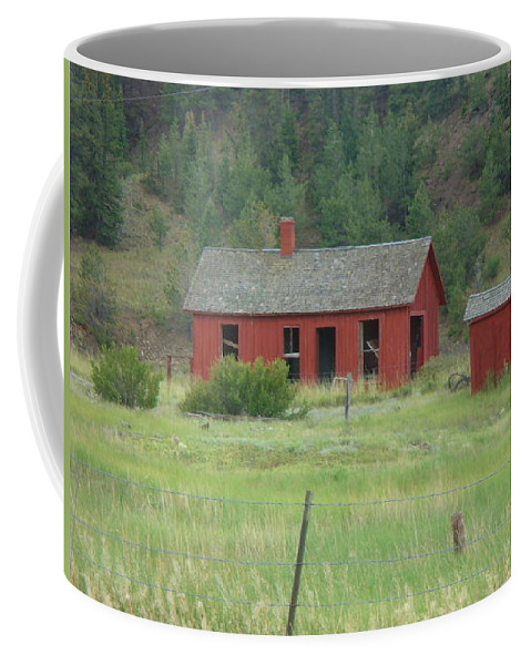 Lyle Coffee Mug featuring the painting Ghost Town by Lord Frederick Lyle Morris