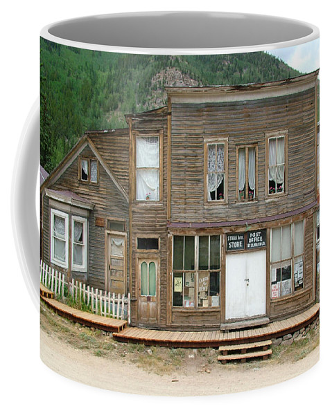 Ghost Towns Coffee Mug featuring the photograph Ghost Town Of Saint Elmo by Ken Smith