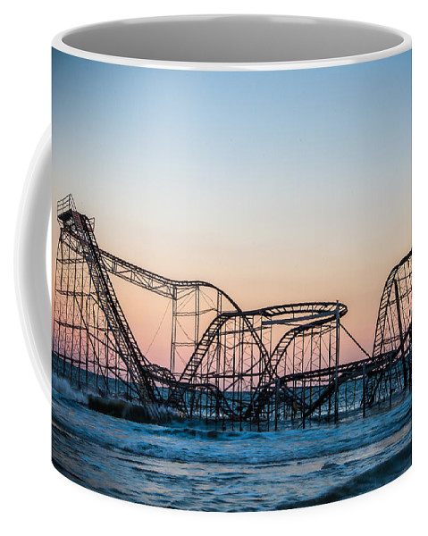 New Jersey Coffee Mug featuring the photograph Giant of the Sea by Kristopher Schoenleber