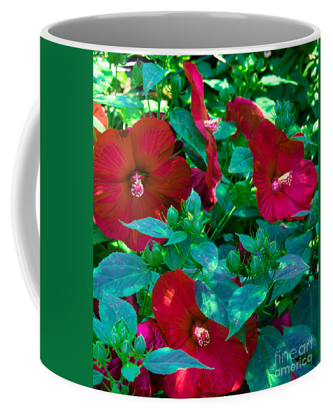 Giant Coffee Mug featuring the photograph Giant Poppies by Scott Hervieux