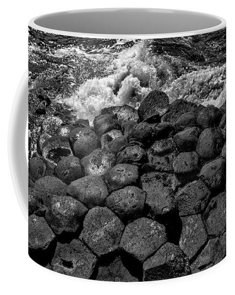 Giants Causeway Coffee Mug featuring the photograph Giants Causeway 1 by Nigel R Bell