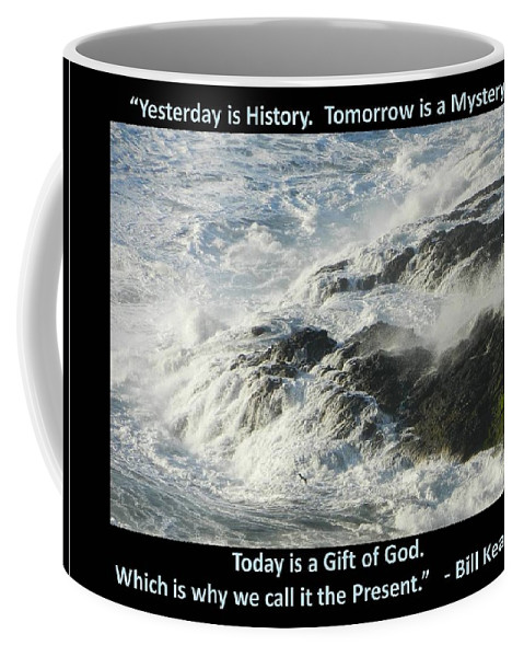 Cape Meares Lighthouse Coffee Mug featuring the photograph Gift Of God by Gallery Of Hope
