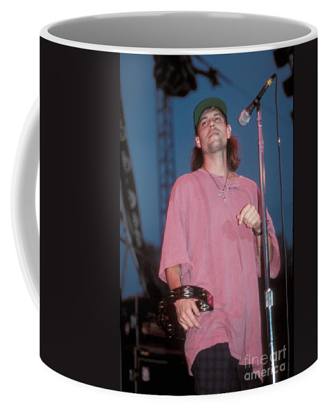 Performing Coffee Mug featuring the photograph Gin Blossoms by Concert Photos