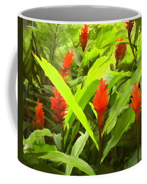 Ginger Coffee Mug featuring the photograph Ginger by Kurt Van Wagner