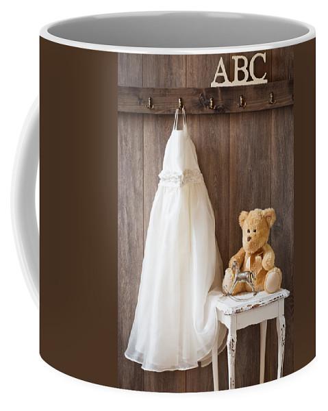 Abc Coffee Mug featuring the photograph Girls Dress by Amanda Elwell
