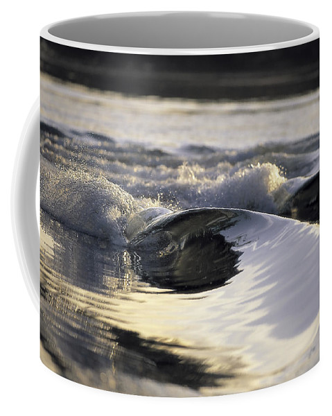 Wave Coffee Mug featuring the photograph Glass Bowls by Sean Davey