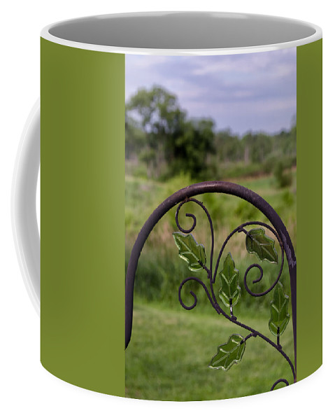 Glass Coffee Mug featuring the photograph Glass Leaves by Jim Shackett