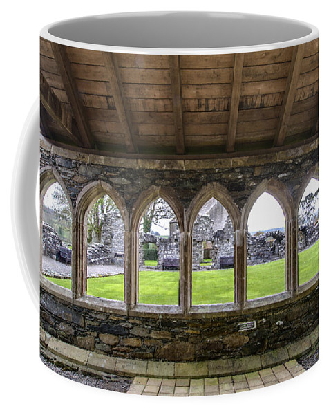 Glenluce Abbey Coffee Mug featuring the photograph Glenluce Abbey - 4 by Paul Cannon