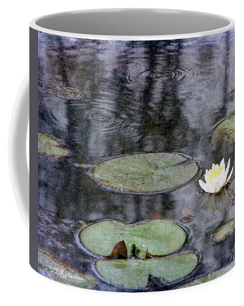 Water Coffee Mug featuring the photograph Glimmer by Priscilla Richardson