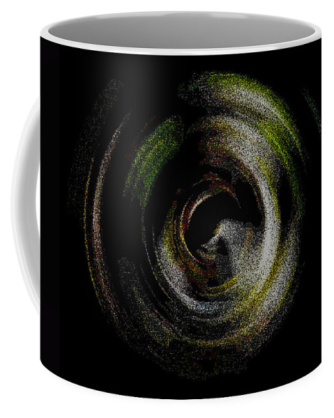 Abstract Coffee Mug featuring the photograph Glitter Galaxy by Mark Fuge