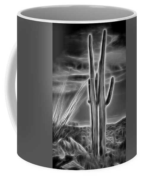 Dramatic Coffee Mug featuring the photograph Glowing Pair by Kelley King