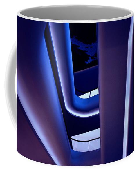Blue Coffee Mug featuring the photograph Glowing Sensuality by Shaun Higson