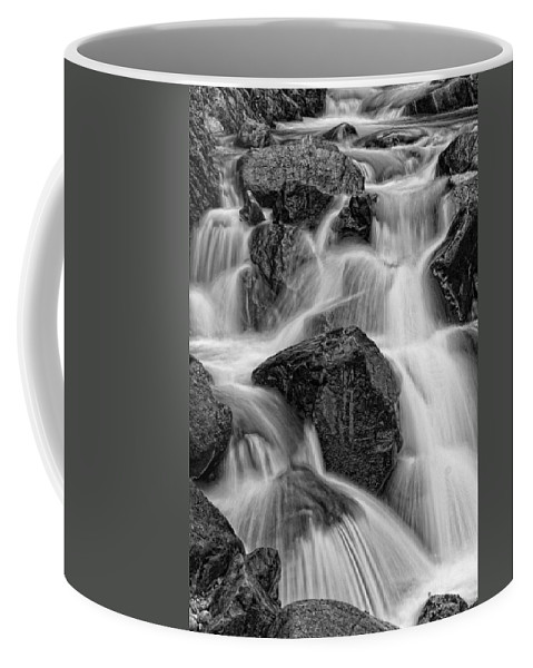 Water Coffee Mug featuring the photograph Go With The Flow by Betty Depee