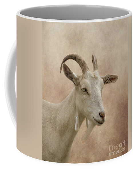 Goat Coffee Mug featuring the photograph Goat by Linsey Williams