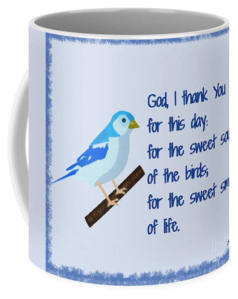 God I Thank You For This Day Coffee Mug featuring the painting God I Thank You for This Day by Pharris Art