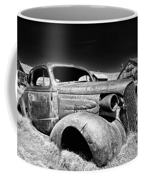 Ghost Town Coffee Mug featuring the photograph Goin' Nowhere by Cat Connor