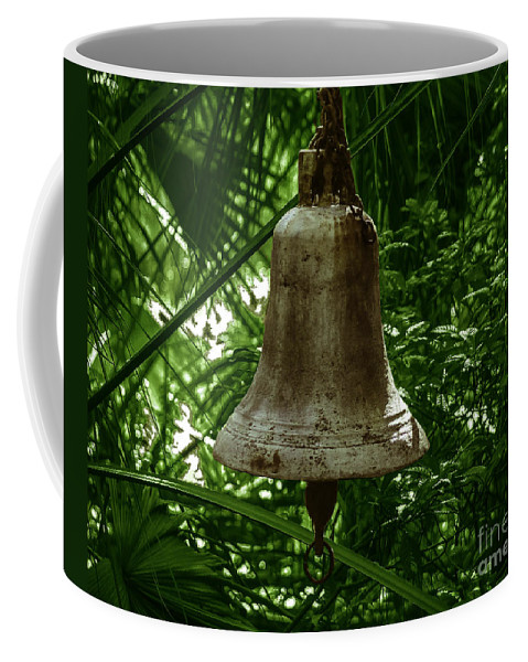 Photography Coffee Mug featuring the photograph Gold Bell by Michael Mietlicki