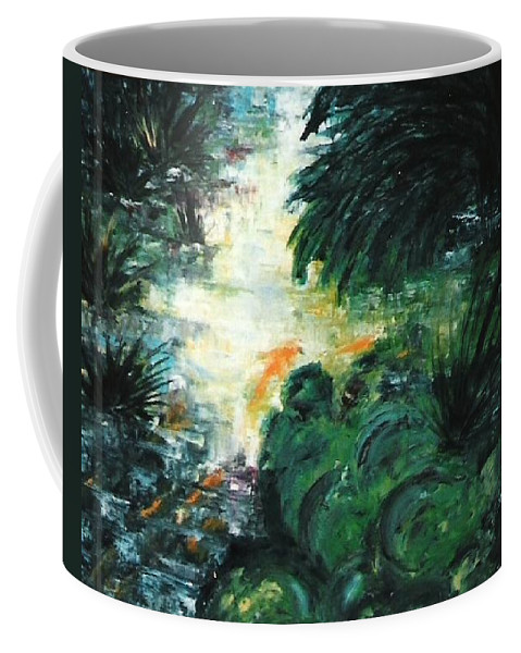 Stolen Coffee Mug featuring the painting Gold Fish by Lord Frederick Lyle Morris