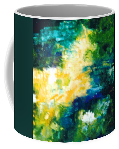 Lyle Coffee Mug featuring the painting Gold Fish II by Lord Frederick Lyle Morris - Disabled Veteran