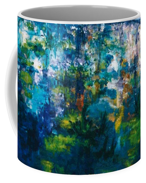 Lyle Coffee Mug featuring the painting Gold Fish V by Lord Frederick Lyle Morris - Disabled Veteran