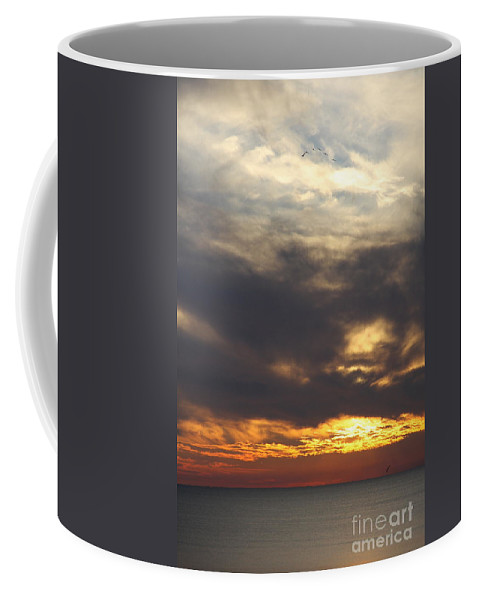 Twilight Coffee Mug featuring the photograph Golden Hour At Destin Beach by Christiane Schulze Art And Photography