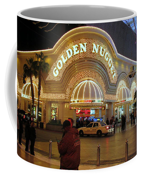 Golden Nugget Coffee Mug featuring the photograph Golden Nugget by Kay Novy