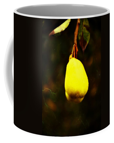 Hood River Coffee Mug featuring the photograph Golden Pear by Image Takers Photography LLC - Carol Haddon