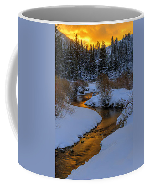 Utah Coffee Mug featuring the photograph Golden Silence by Dustin LeFevre