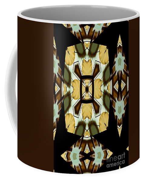 Gong Coffee Mug featuring the photograph Gong Sound Mandala Yantra by Marie Jamieson