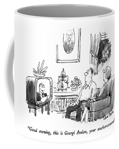Good Evening Coffee Mug For Sale By Dana Fradon