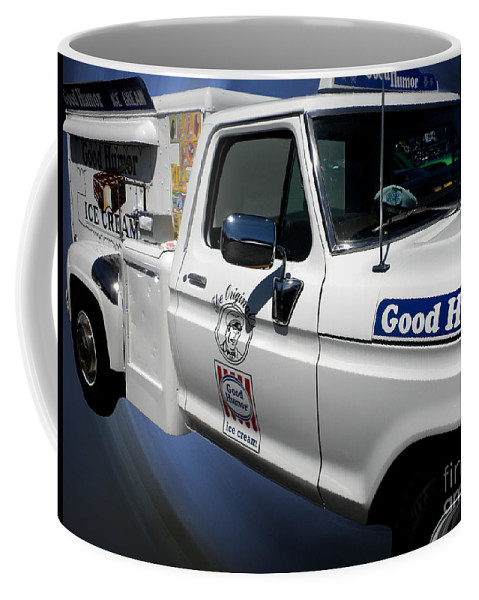 Good Humor Coffee Mug featuring the photograph Good Humor Ice Cream Truck 02 by Thomas Woolworth