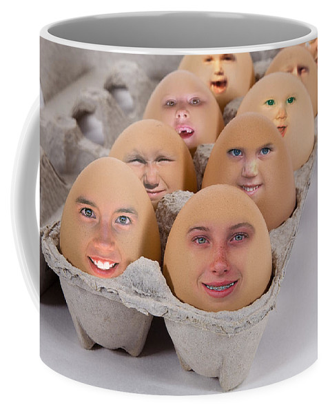 Fantasy Coffee Mug featuring the photograph Good Morning Breakfast by Buddy Mays