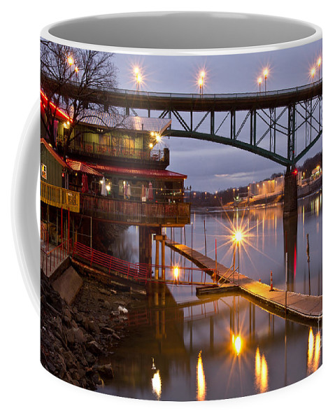 Calhoun's Coffee Mug featuring the photograph Good Morning Knoxville by Douglas Stucky