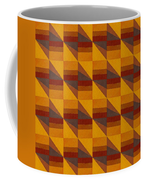 Abstract Coffee Mug featuring the digital art Good Vibrations by Michelle Calkins
