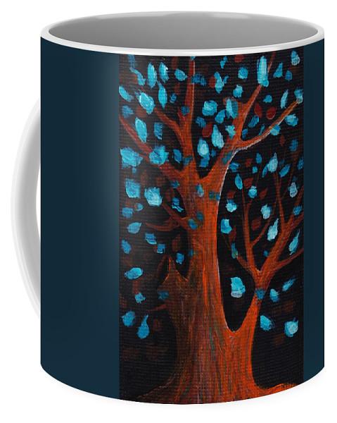 Malakhova Coffee Mug featuring the painting Good Wishes by Anastasiya Malakhova