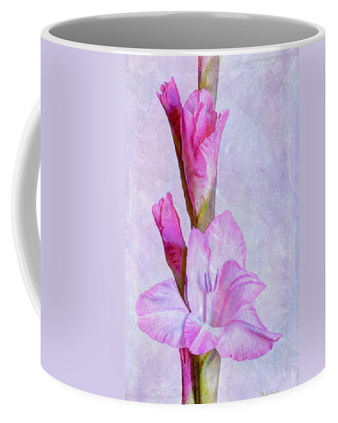 Purple Coffee Mug featuring the photograph Grace With Textures by Heidi Smith