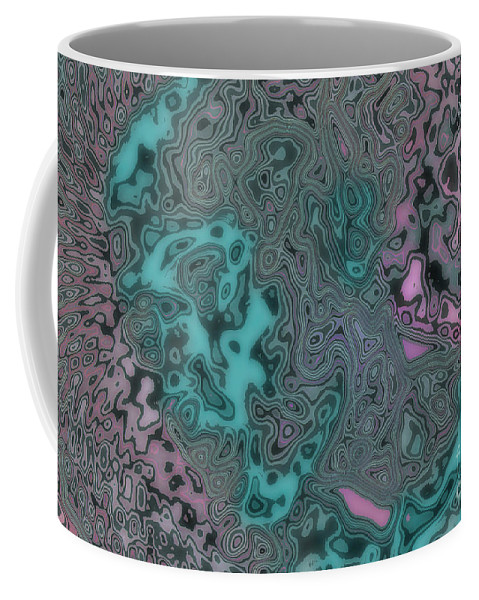 Design Coffee Mug featuring the mixed media Graffiti Mix by Mando Xocco