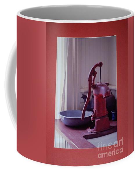 Pump Coffee Mug featuring the photograph Grama's Faucet by Sharon Elliott