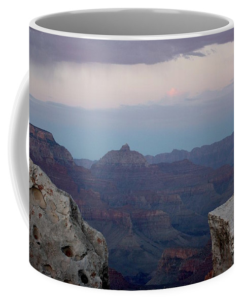 Grand Canyon Coffee Mug featuring the photograph Grand Canyon At Sunset by Veronica Batterson