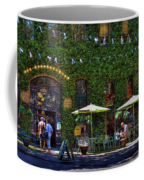 Pioneer Square Seattle Coffee Mug featuring the photograph Grand Central Arcade - Seattle by David Patterson