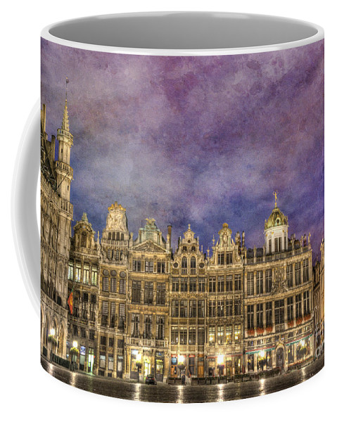 Architecture Coffee Mug featuring the photograph Grand Place by Juli Scalzi