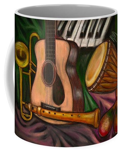 Music Coffee Mug featuring the photograph Grand POP by Artist RiA