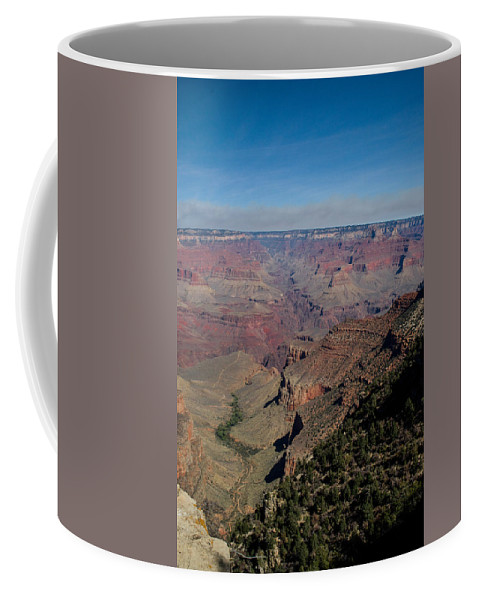 Grand Coffee Mug featuring the photograph Grande Canyon Afternoon by Douglas Barnett