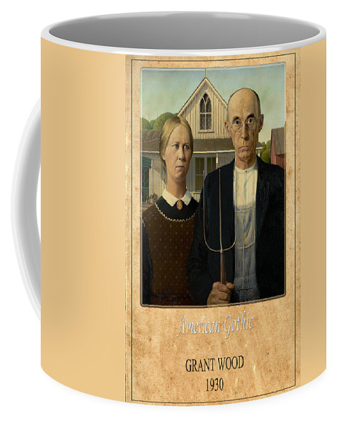 Grant Wood Coffee Mug featuring the photograph Grant Wood 1 by Andrew Fare