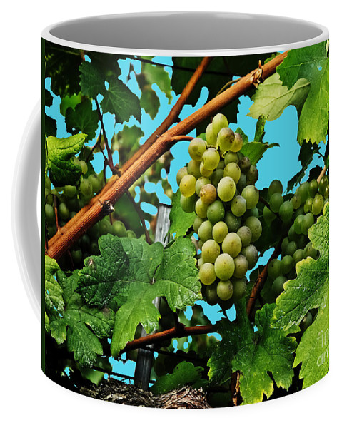 Travel Coffee Mug featuring the photograph Grapes Of Wachau by Elvis Vaughn